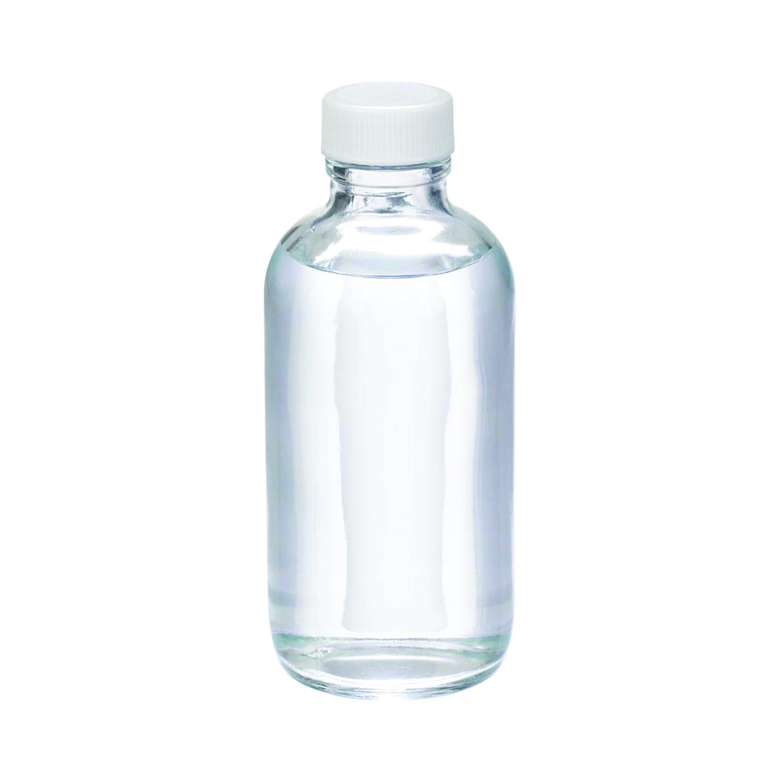 WHEATON® Safety Coated Boston Round Bottle, Without Cap, 8oz
