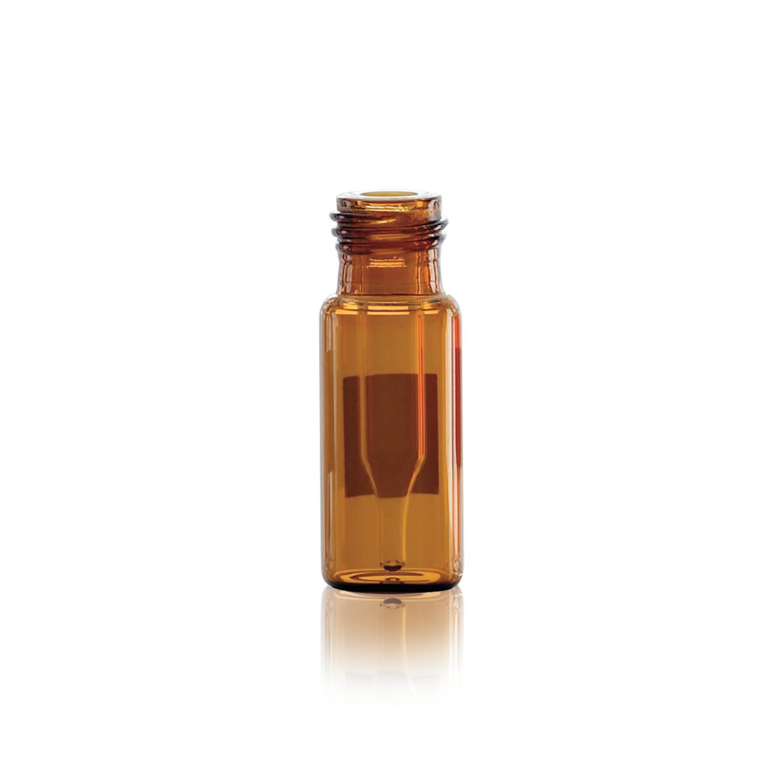 WHEATON® LVI™ VIALS, 12X32 Amb 0.3 mL w/Red Cap PTFE/Red Sil