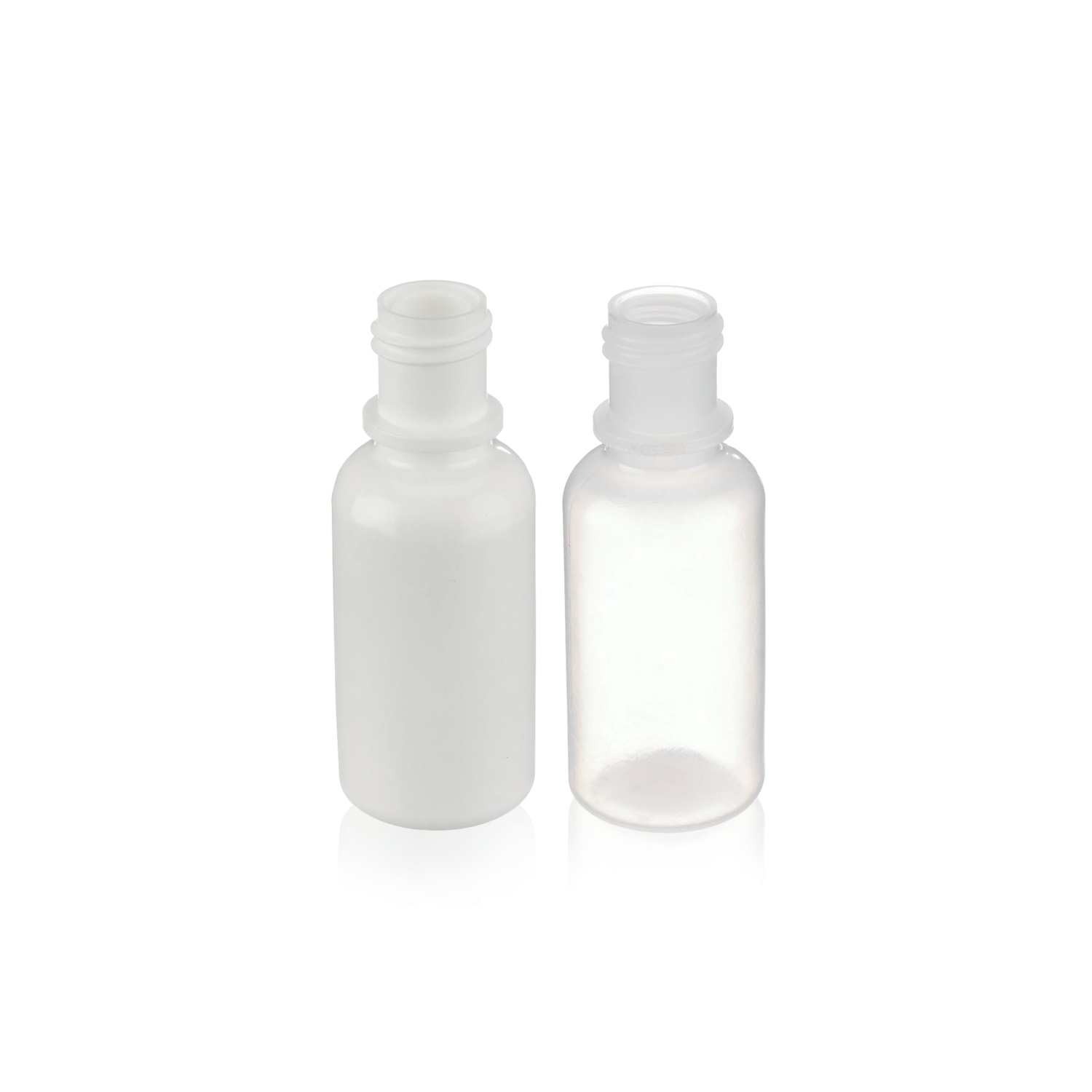 WHEATON® Plastic Dropping Bottle, 15mL, Natural, Case of 100