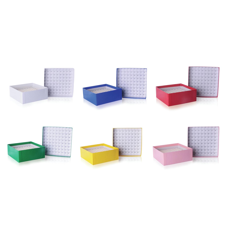 WHEATON® CryoFile® Storage Box, Yellow