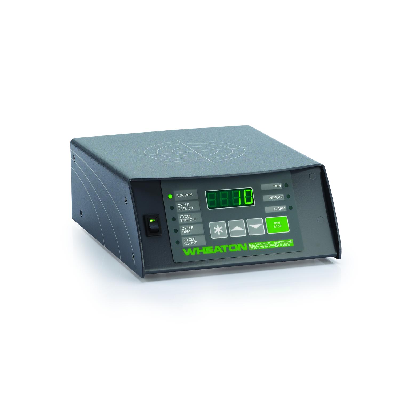 WHEATON® MICRO-STIR® Magnetic Stirrer, 5-200 RPM, Single Place, India Cord