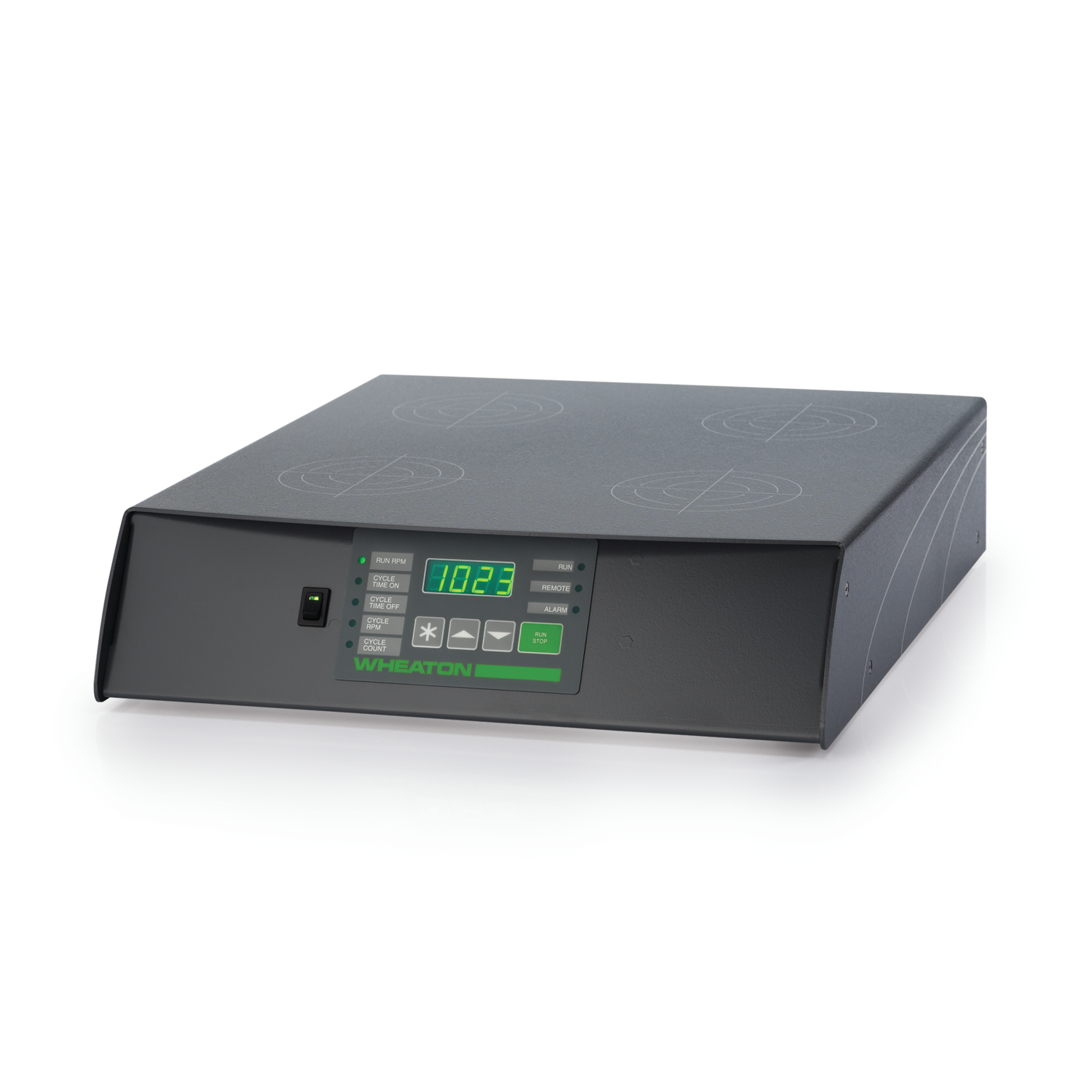 WHEATON® MICRO-STIR® Magnetic Stirrer, 5-200 RPM, Four Place, Switzerland Cord