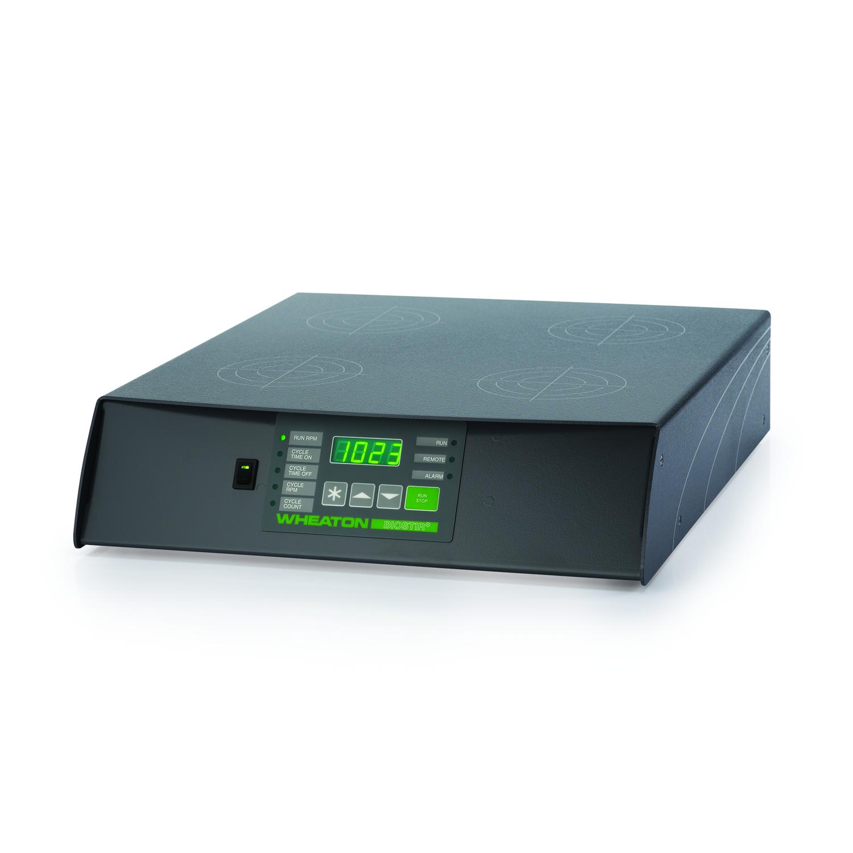 WHEATON® BIOSTIR® Magnetic Stirrer, 150-1200 RPM, Four Place, Australia Cord