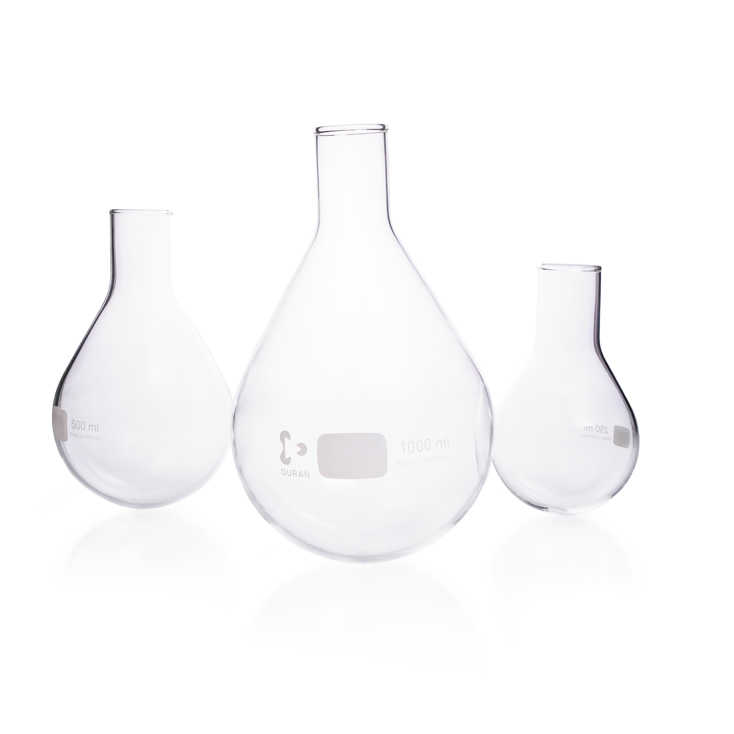 DURAN® Blank for Evaporating Flask, pear shape, 3000 mL
