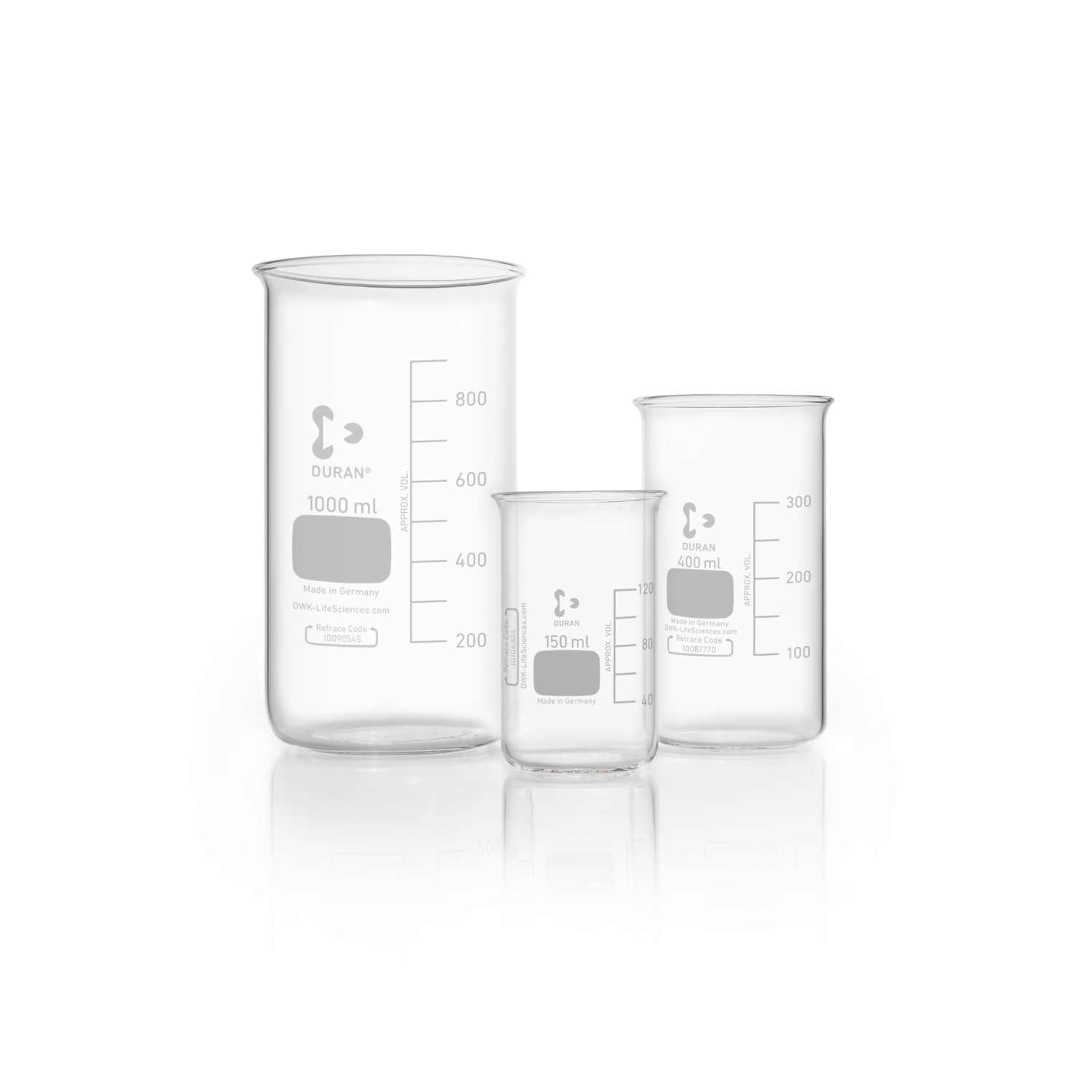 DURAN® Beaker, high form, without spout, 600 mL