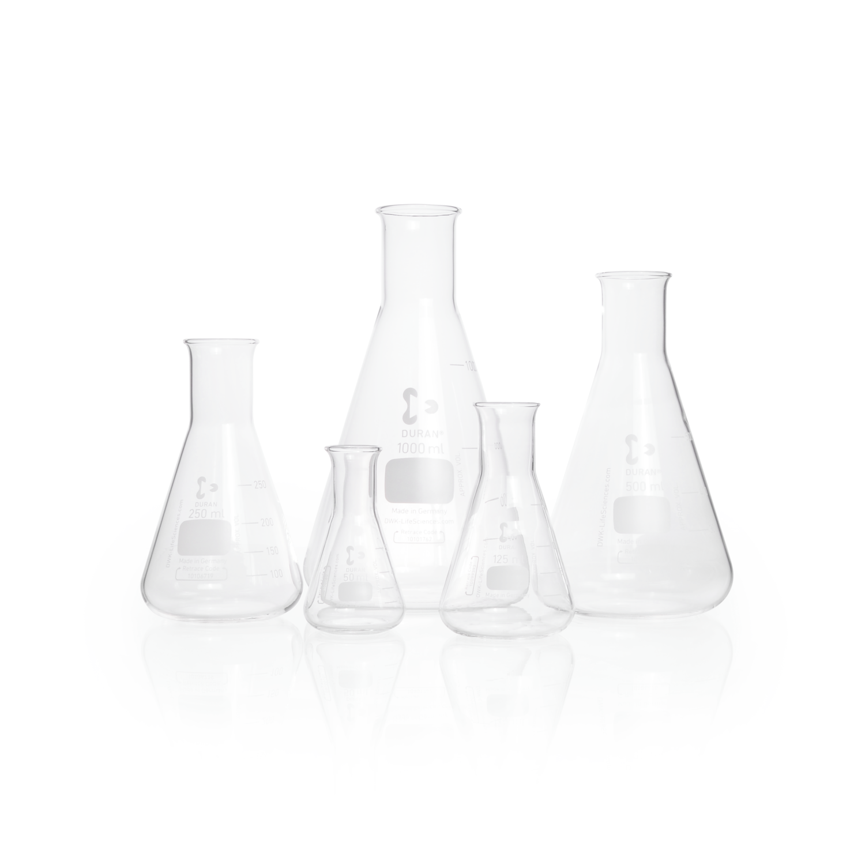 DURAN® Erlenmeyer Flask, narrow neck, 2000 mL