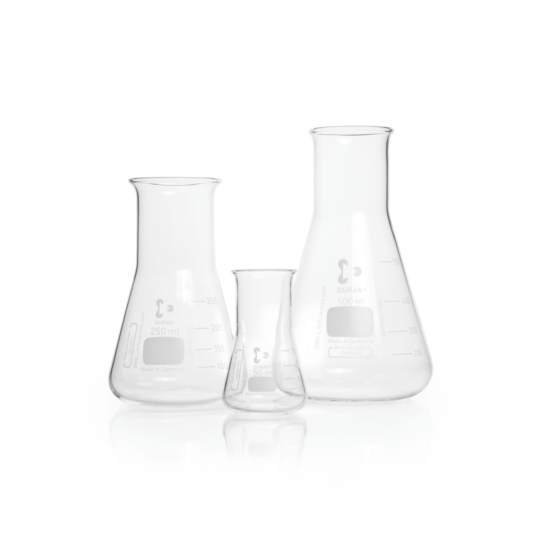 DURAN® Erlenmeyer Flask, wide neck, 1000 mL