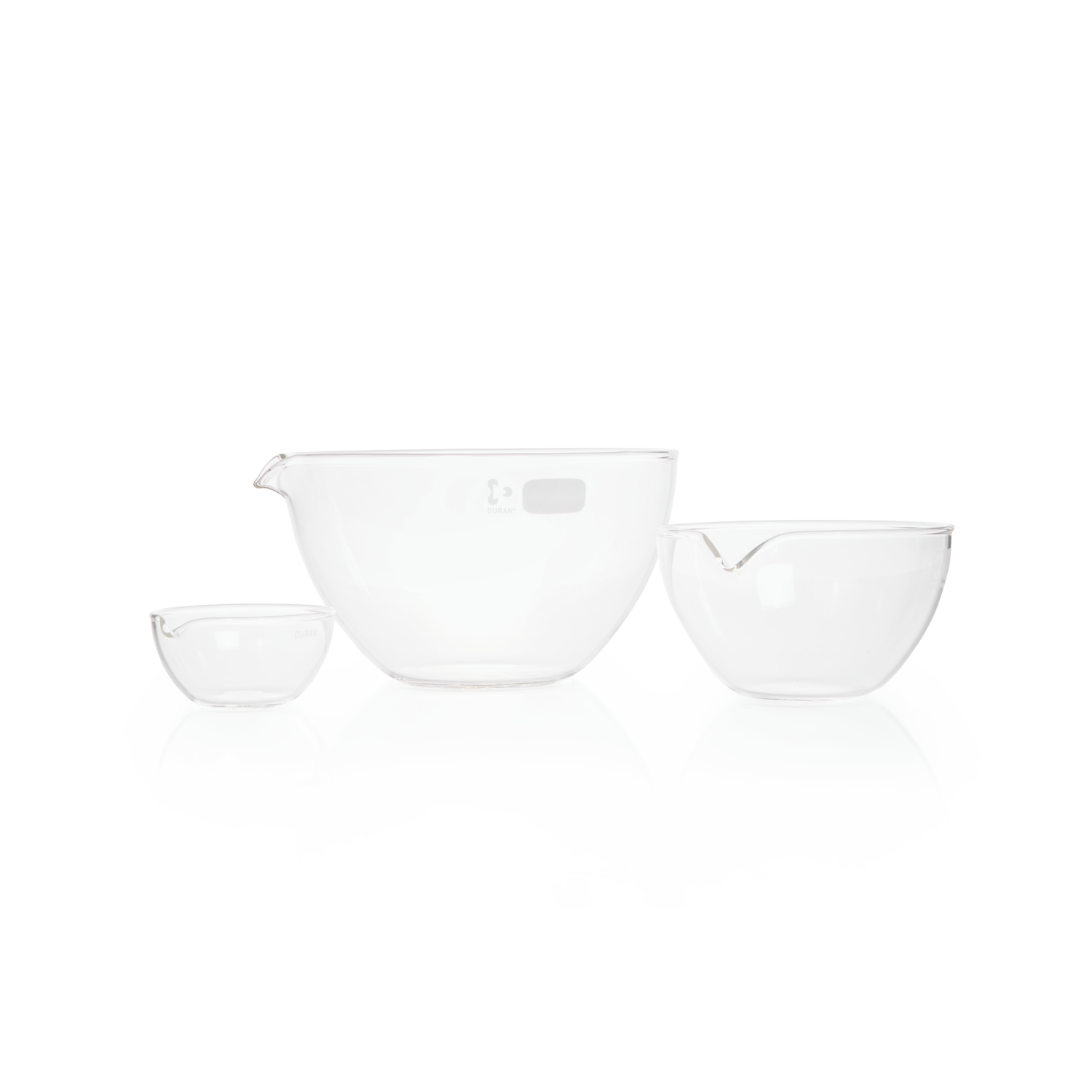 DURAN® Evaporating Dish, with spout, 320 mL