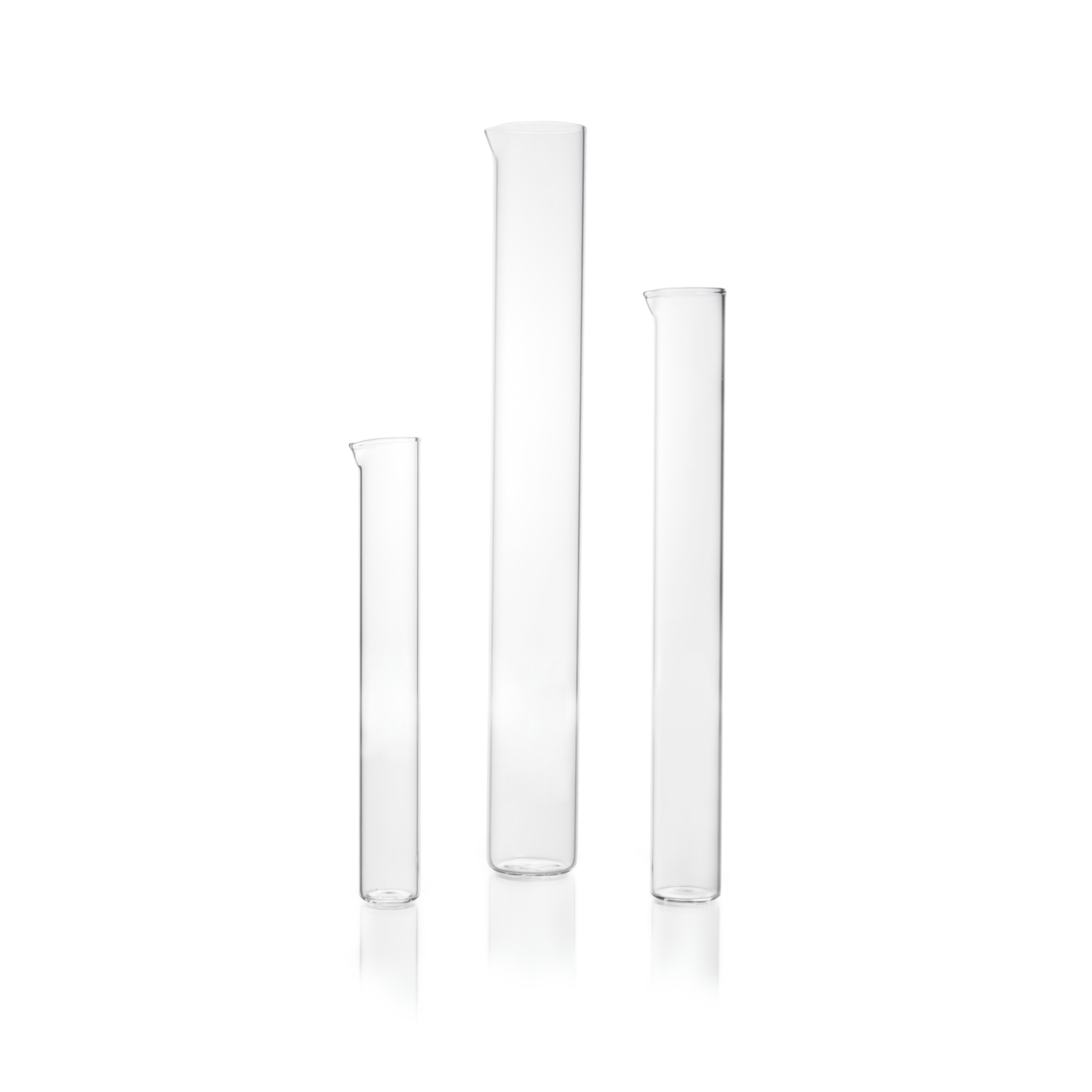 DURAN® Measuring Cylinder Blank, tall form, without base and gradution, 500 mL