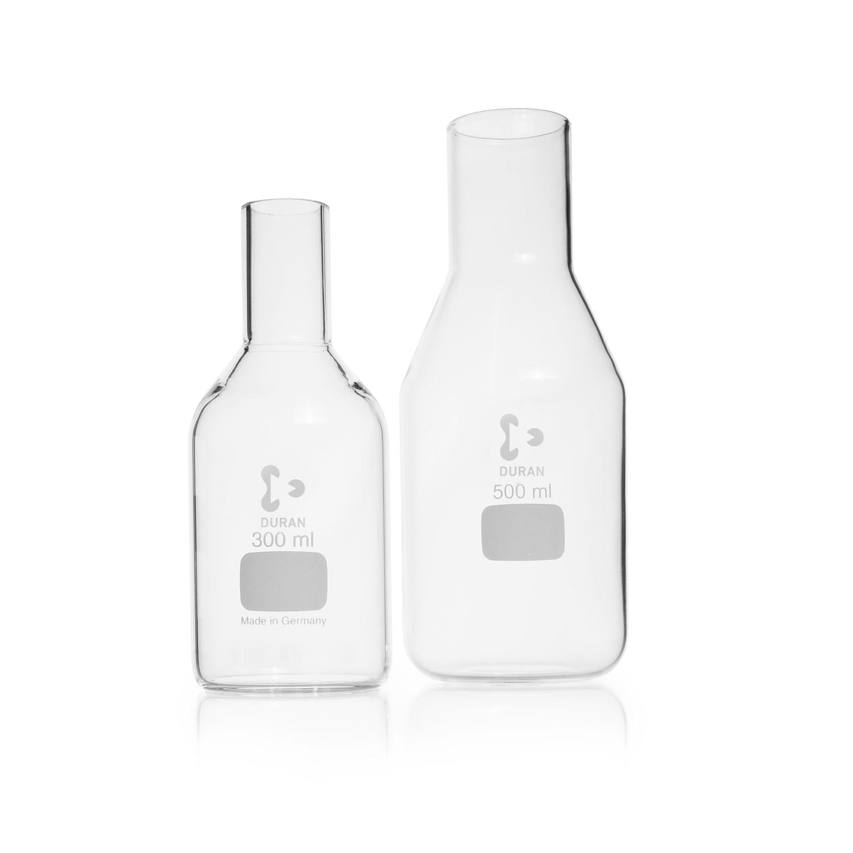 DURAN® Culture Media Bottle, straight rim, for glass cap, 1000 mL