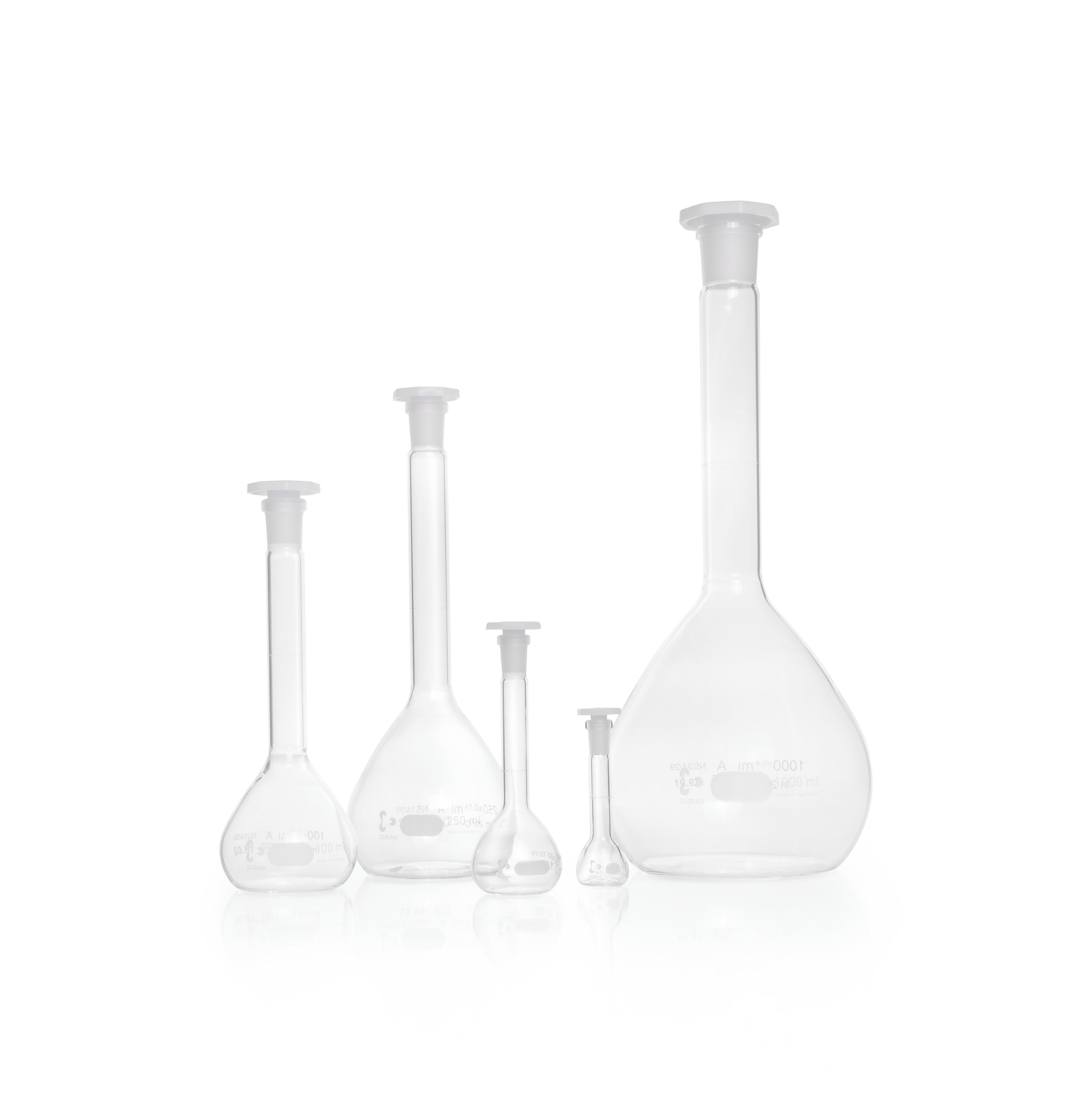 DURAN® Volumetric Flask, Class A, without certificate of conformity, 200 mL