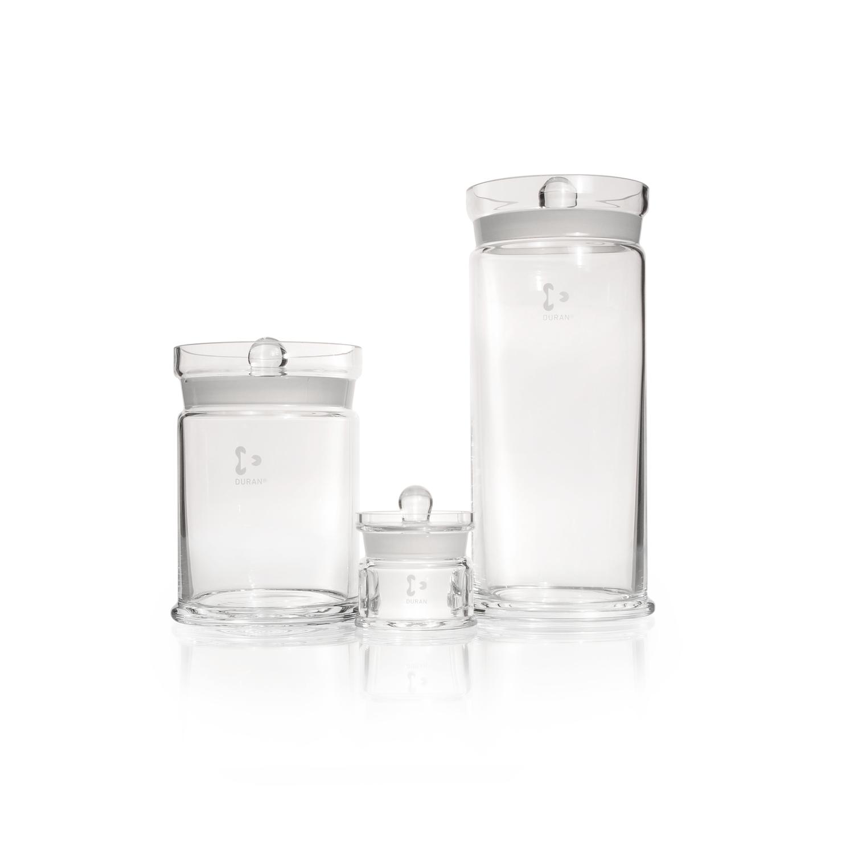 DURAN® Specimen Jar, with knobbed lid, Ø 162 x 153 mm