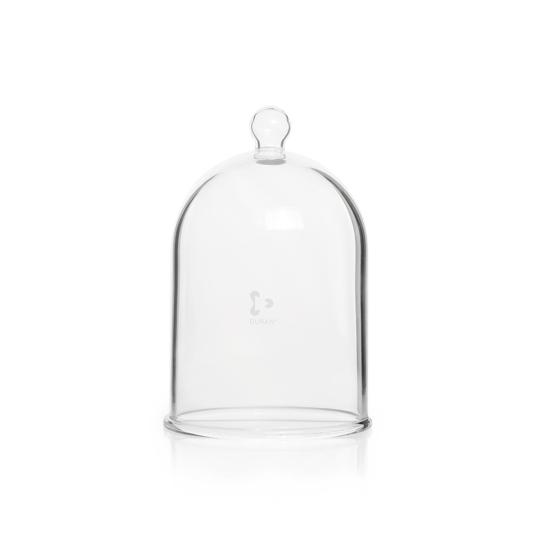 DURAN® Bell Jar, with glass knob top, Ø 260 mm