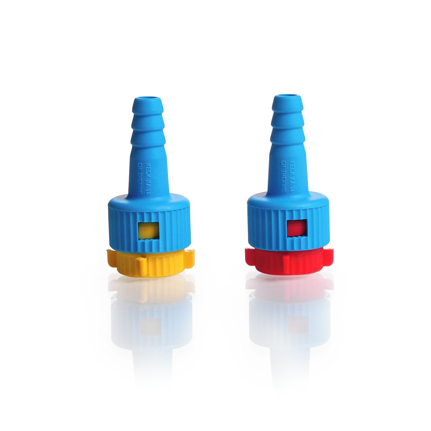 Keck™ Adapter KA, GL 14, from glass thread to hose connection plastic Ø 4.5 mm