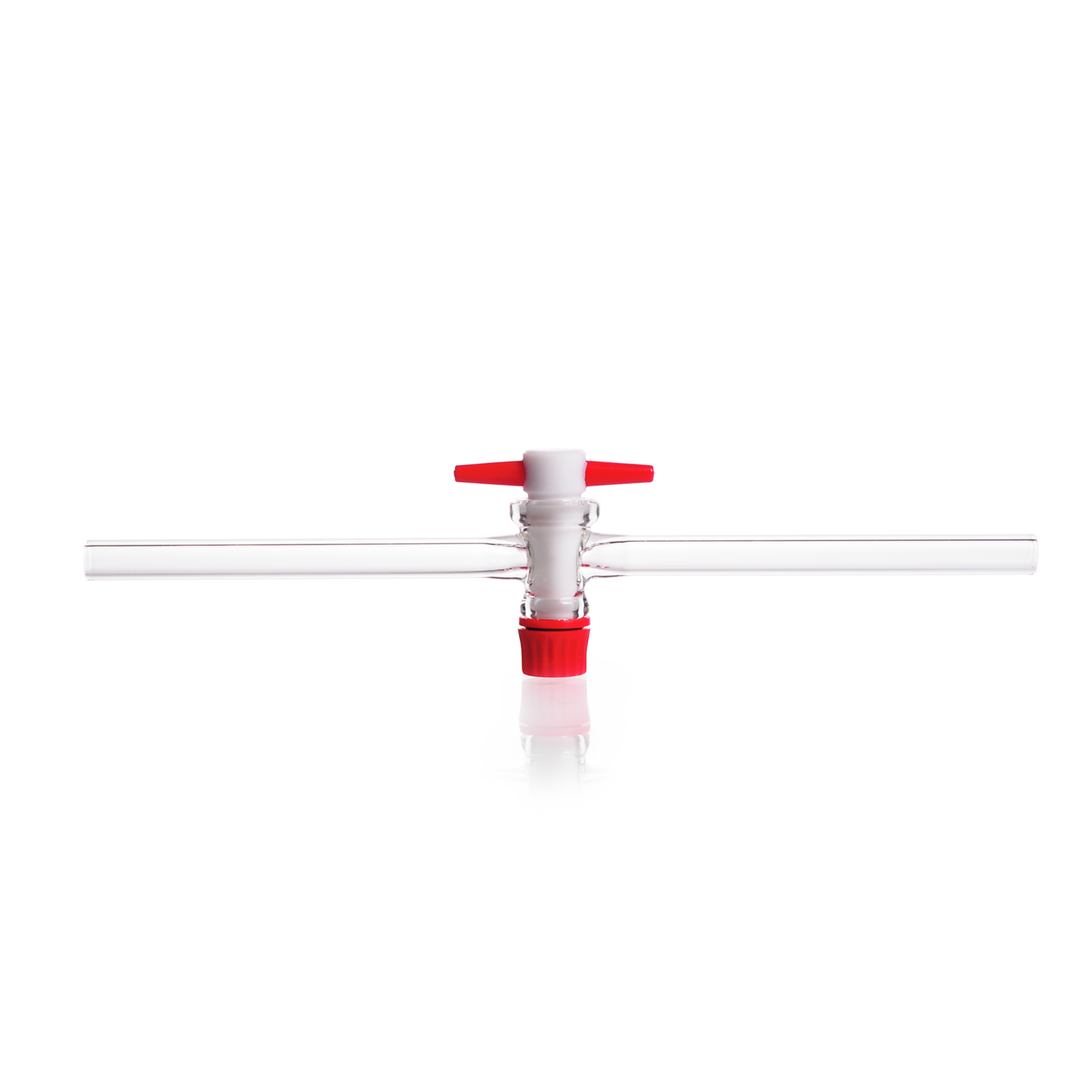 DURAN® Single-way Stopcock, taper 1:5, polished, with PTFE key, bore 8 mm, NS 28