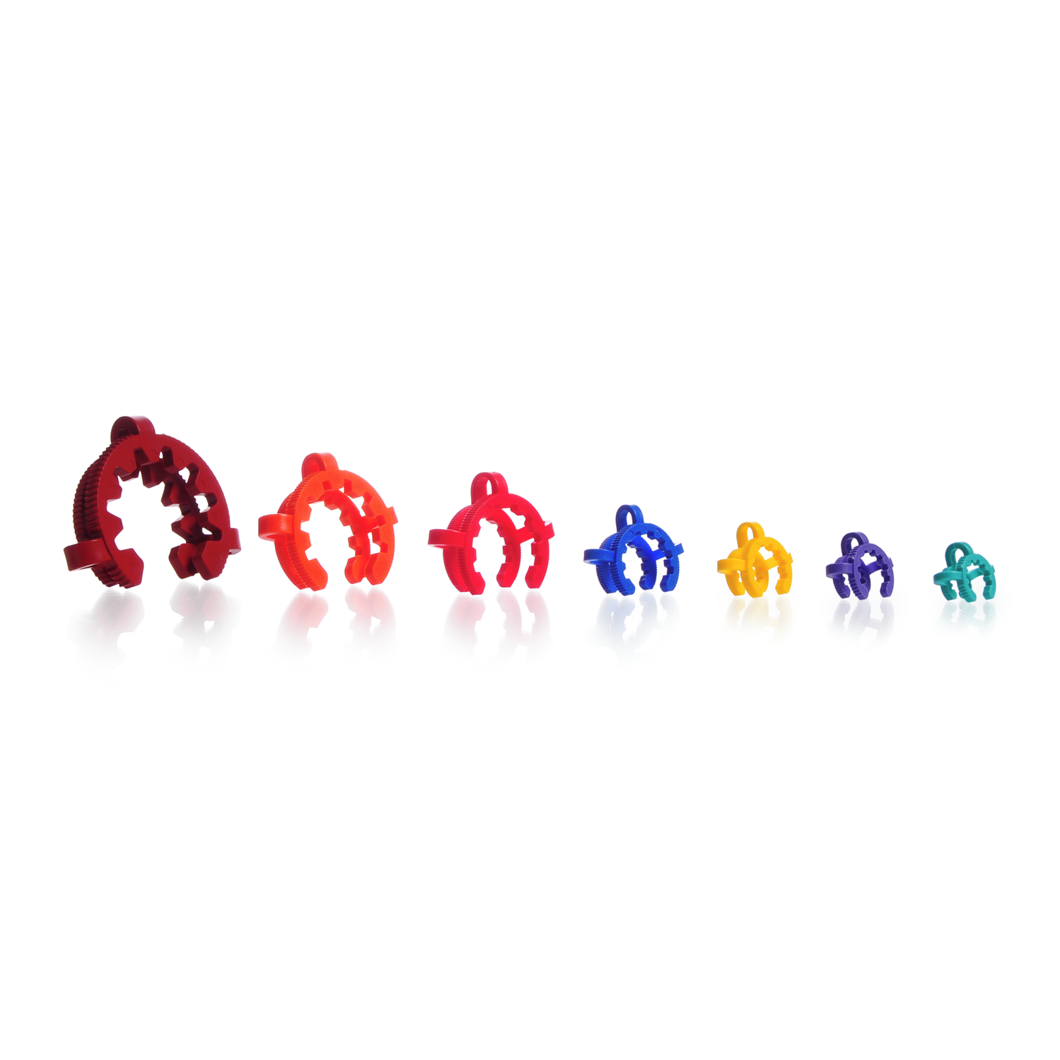 KECK™ Clip Assortment,for Conical Joints, POM