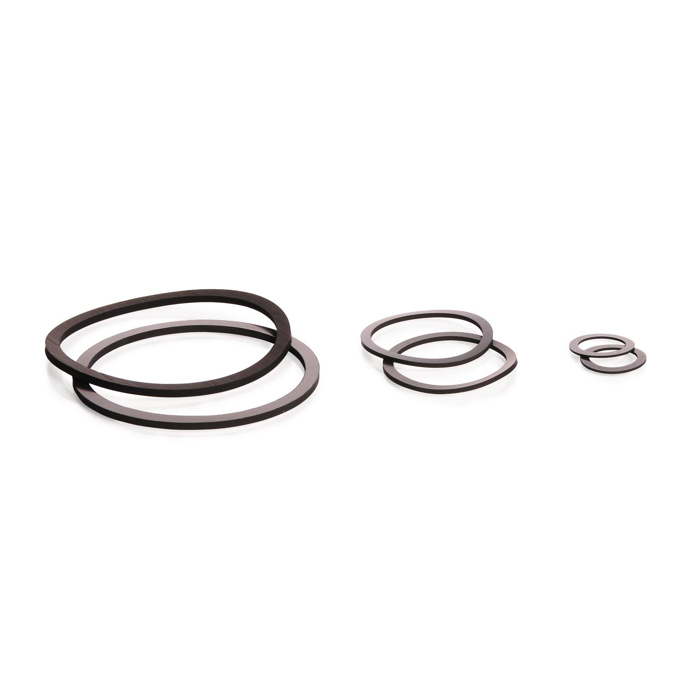 FKM Seals for Filter Discs, Ø 50 mm