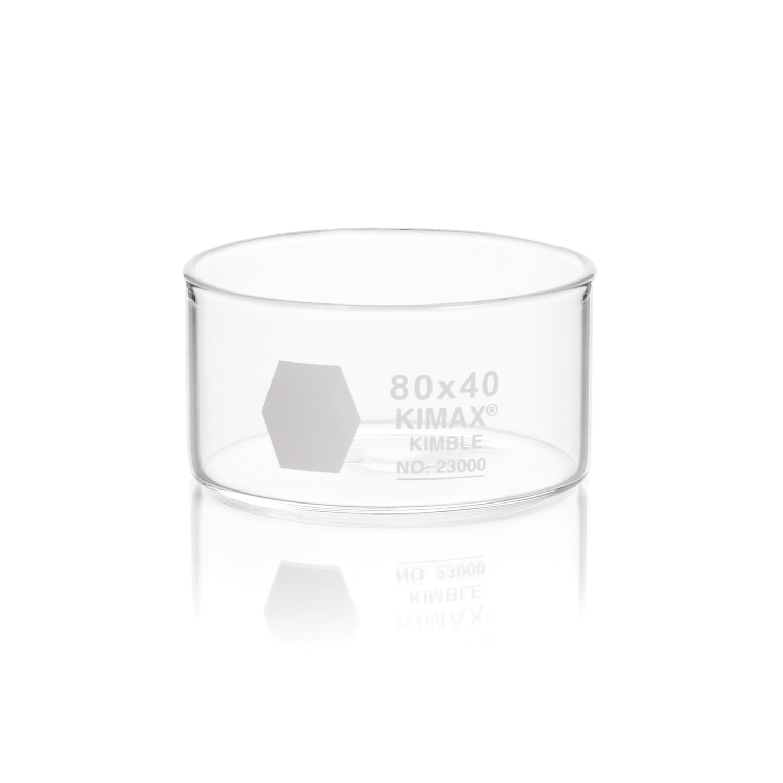 KIMBLE® KIMAX® Crystallizing Dish, 100 x 50 mm, 340 mL
