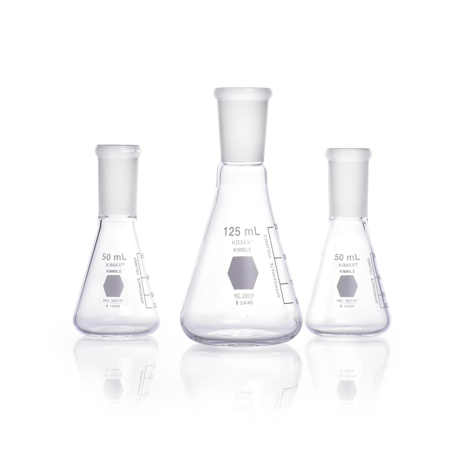 KIMBLE® KIMAX® Jointed Erlenmeyer Flask, 24/40, 2000 mL