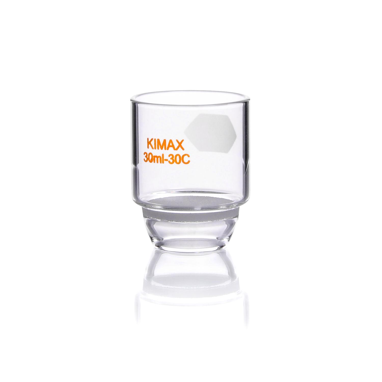 KIMBLE® KIMFLOW® Gooch Low Form Crucible, 10-15 microns, 15 mL