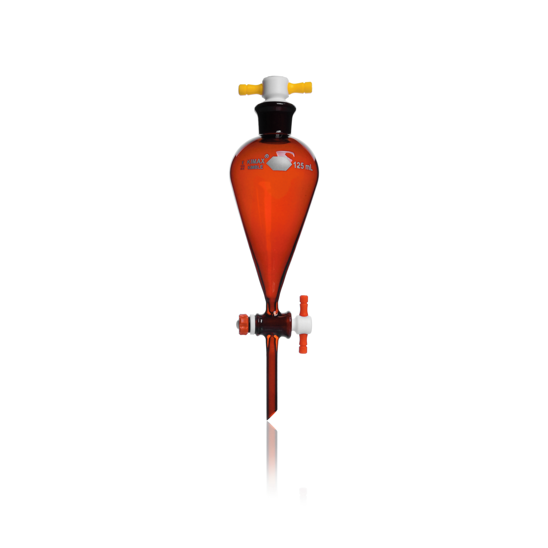 KIMBLE® RAY-SORB® Separatory Funnels, 500 mL