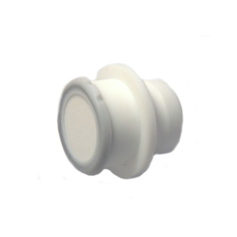 KIMBLE® CHROMAFLEX® End Fitting With Bed Support, 2.5 cm, Requires Attachment With CTFE adapter 420804-0001, Not Included