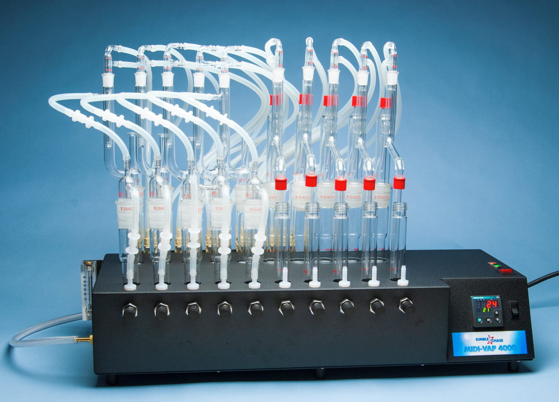 KIMBLE® MIDI-VAP™ 4000 Replacement Parts, Midivap 4000 Ammonia/Phenol Glassware, 5 Sets