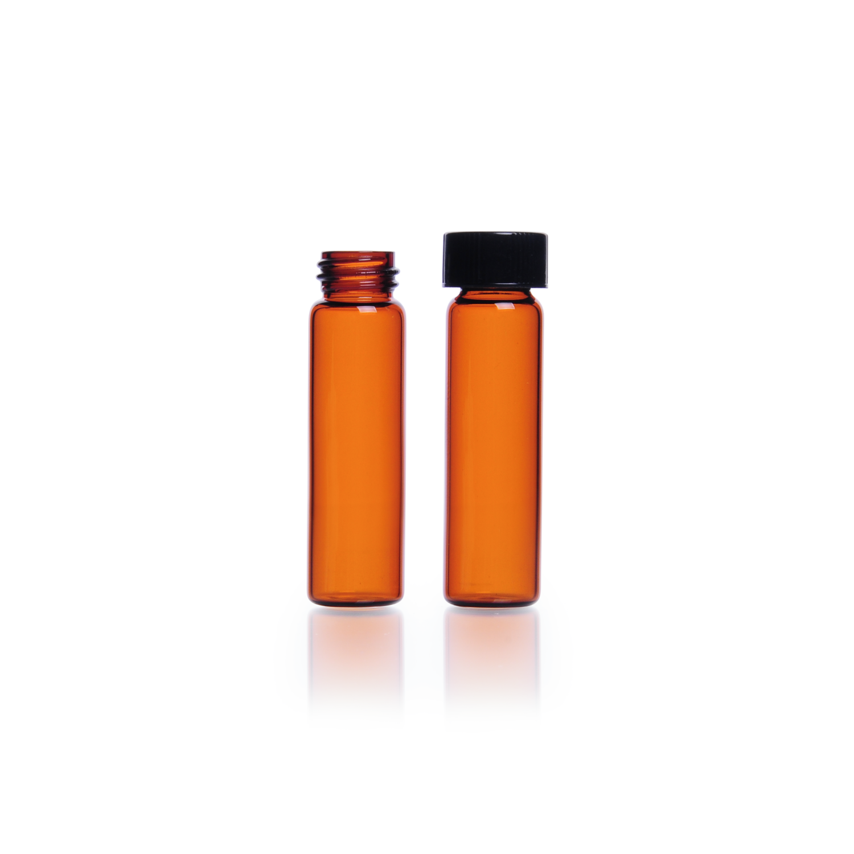 KIMBLE® Amber Sample Vial, 4 mL