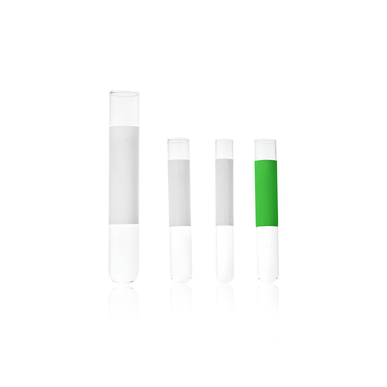 KIMBLE® MARK-M® Borosilicate Glass Tube With Green 1-3/8