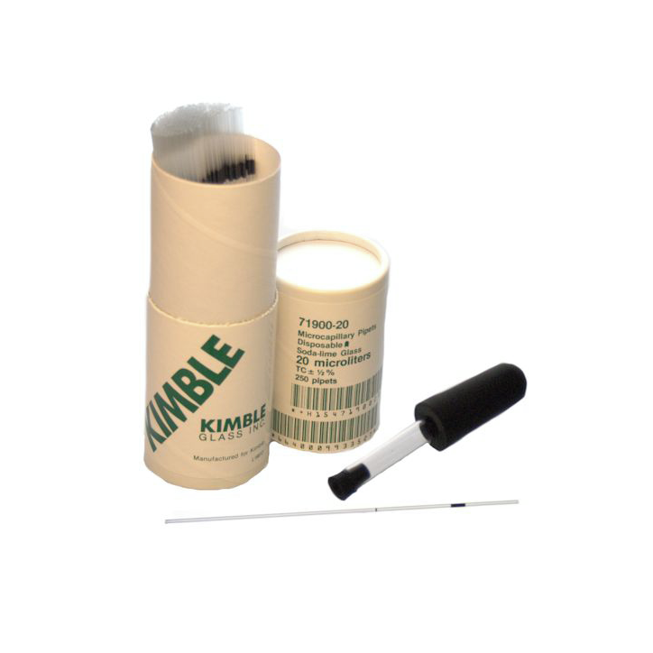 KIMBLE® To Contain Micro Capillary Pipet, 100 µL