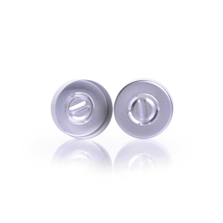 KIMBLE® Tear-Out Unlined Aluminum Seals, 20 mm, Green