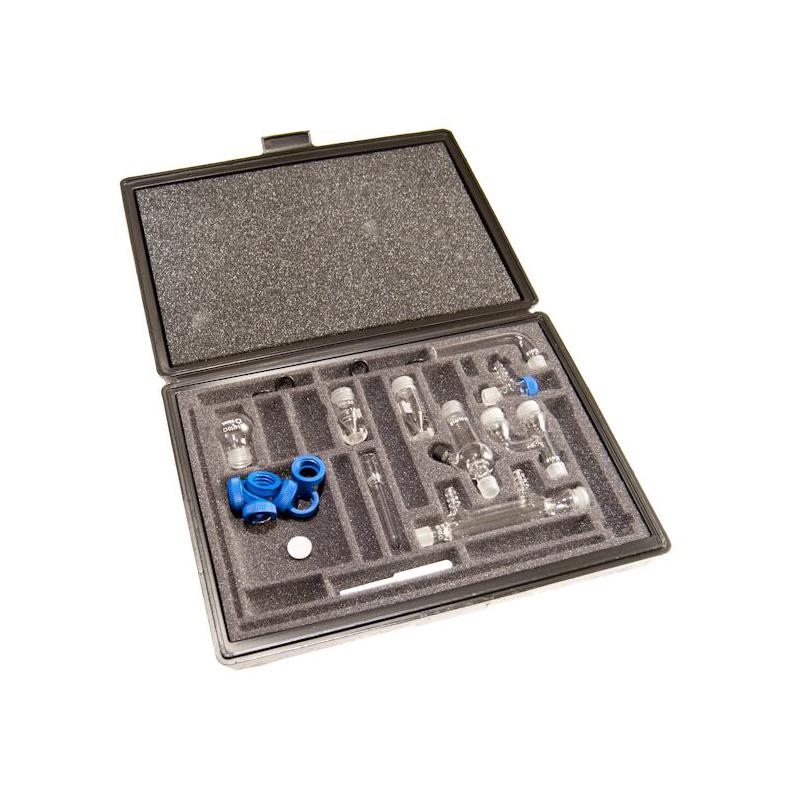KIMBLE® KONTES® Threaded Basic 14/10 Kit in a Rugged Polyethylene Storage Case