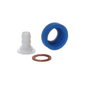 KIMBLE® PTFE Hose Connector, 20-400 to 1/4