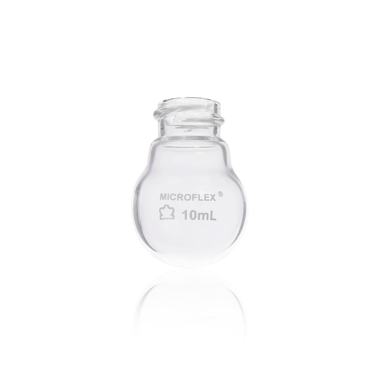 KIMBLE® KONTES® Short Neck Threaded Boiling Flask, 15 mL