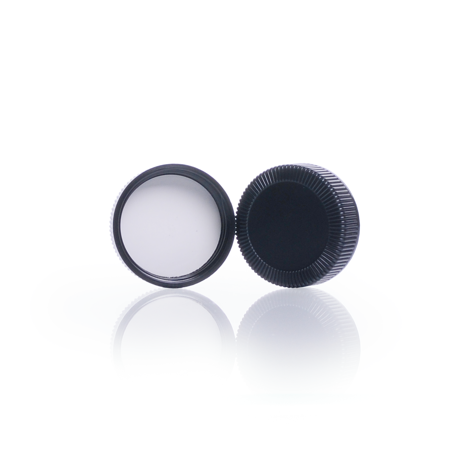 KIMBLE® Black Phenolic Screw Thread Caps, 48-400