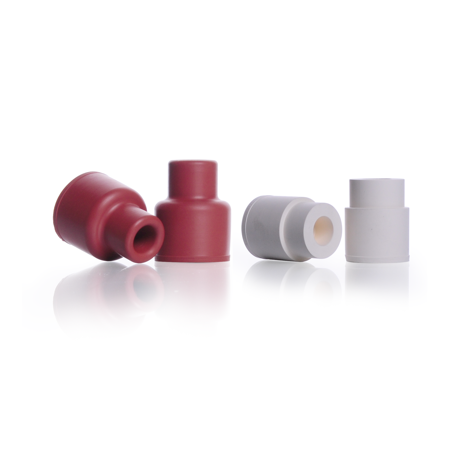 KIMBLE® Plug-Type Rubber Sleeve Stoppers, 14 mm