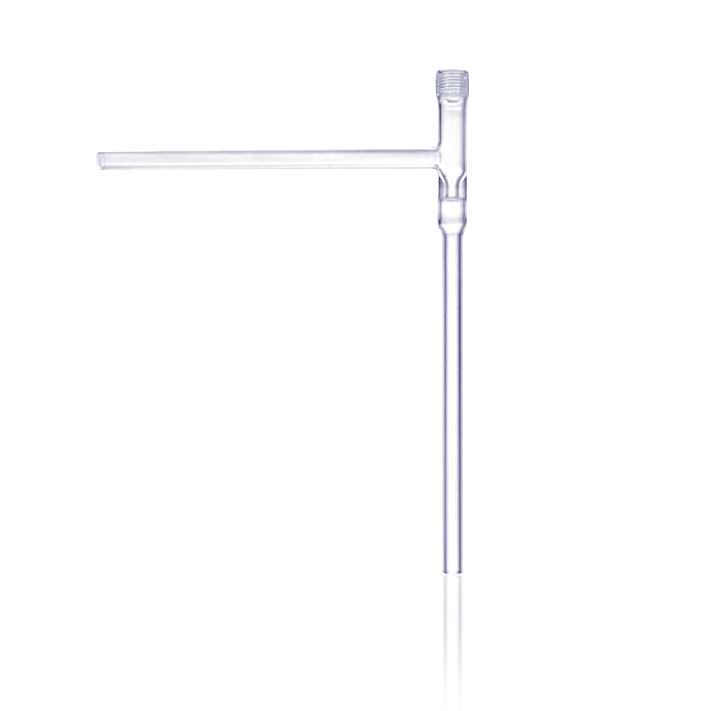 KIMBLE® HI-VAC® Right-Angle Valve, without Plug, Size 4