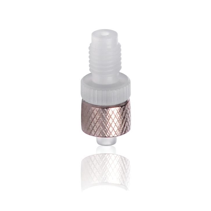 KIMBLE® Adapter, ETFE FLEX-COLUMN® Fitting, Male Luer to Male 1/4