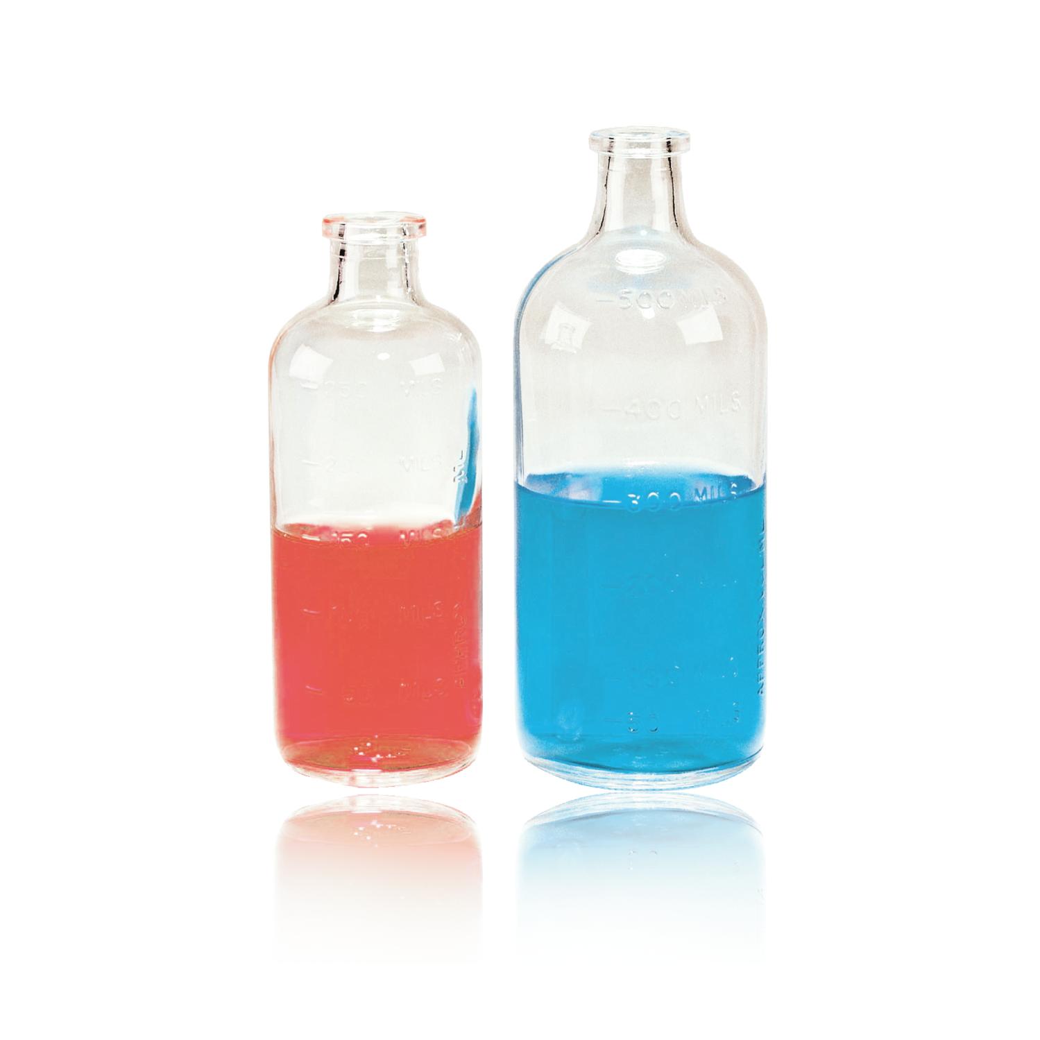 WHEATON® Serum Bottle With Molded Graduations, 500 mL