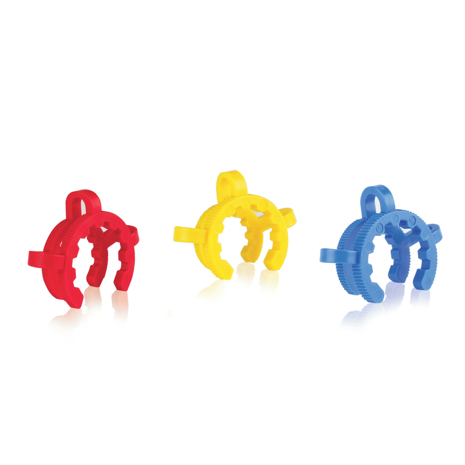 WHEATON® Standard Taper Clamp, Assorted, Colors