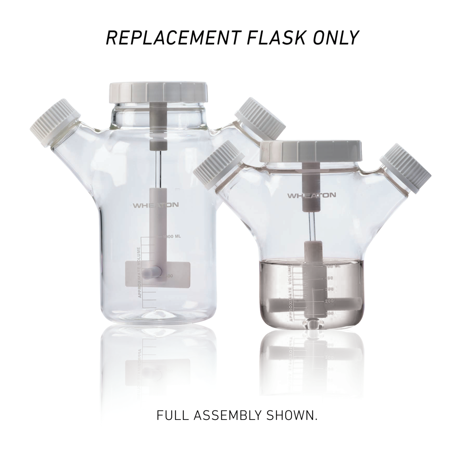 WHEATON® CELSTIR® Replacement Flask Only, 50 mL
