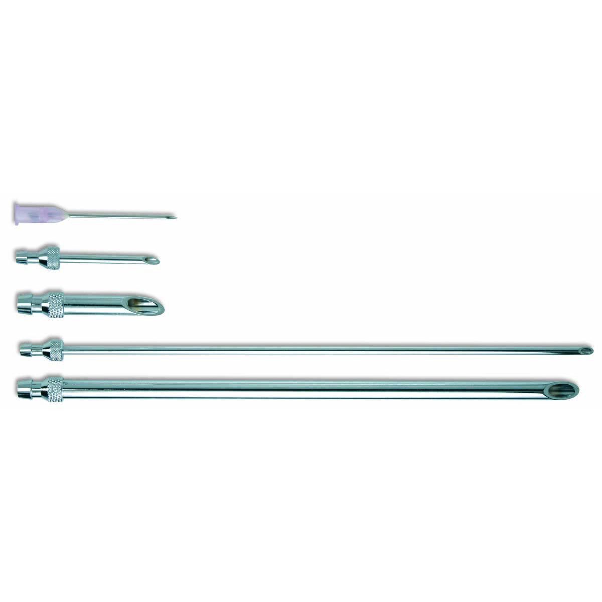 SOCOREX® DOSYS™ Syringe Short Vent Cannulas, Chrome Plated, 10 mL