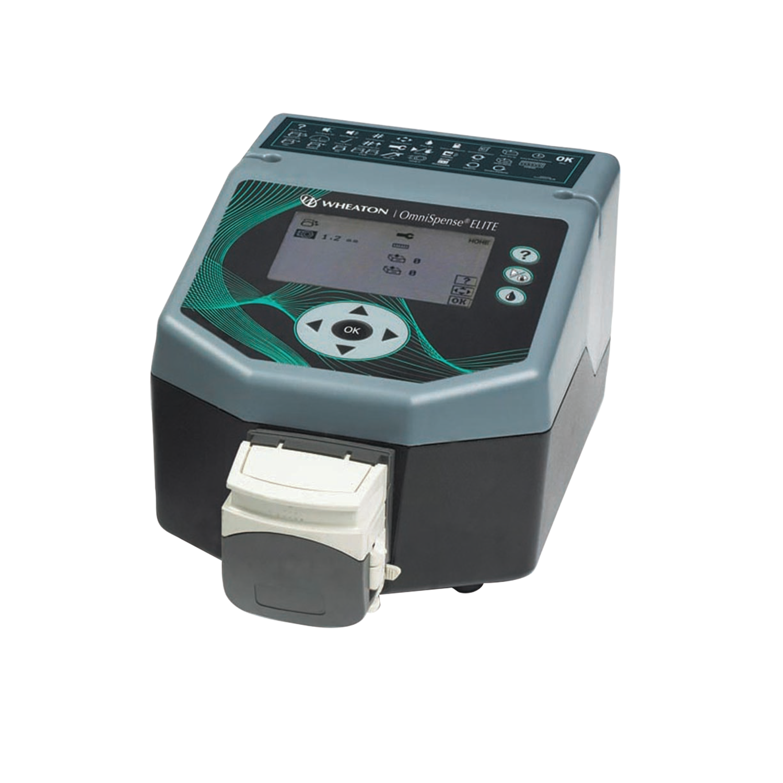 WHEATON® OMNISPENSE® ELITE Peristaltic Dispensing Pump, 230 V, Europe Cord
