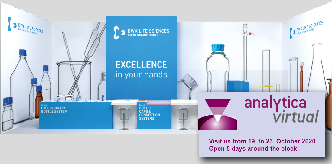Visit DWK Lifescience on the Analytica Virtual 2020!