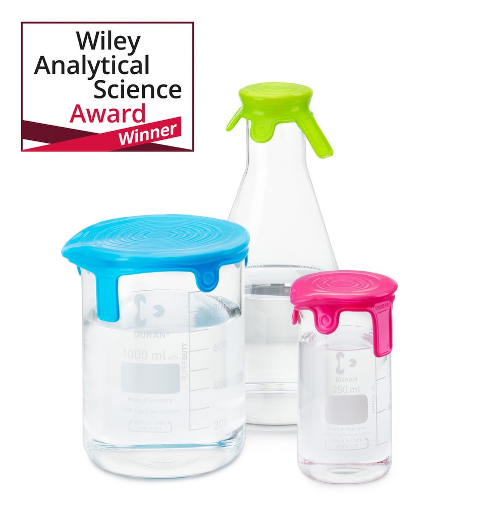 DWK Life Sciences secures Wiley Analytical award for silicone lids innovation