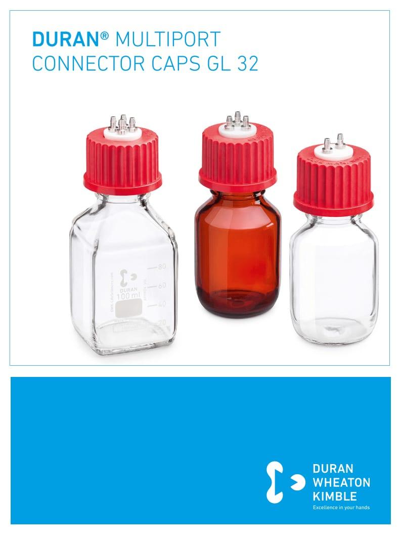 DURAN® GL32 Multiport Connector Caps Flyer EN