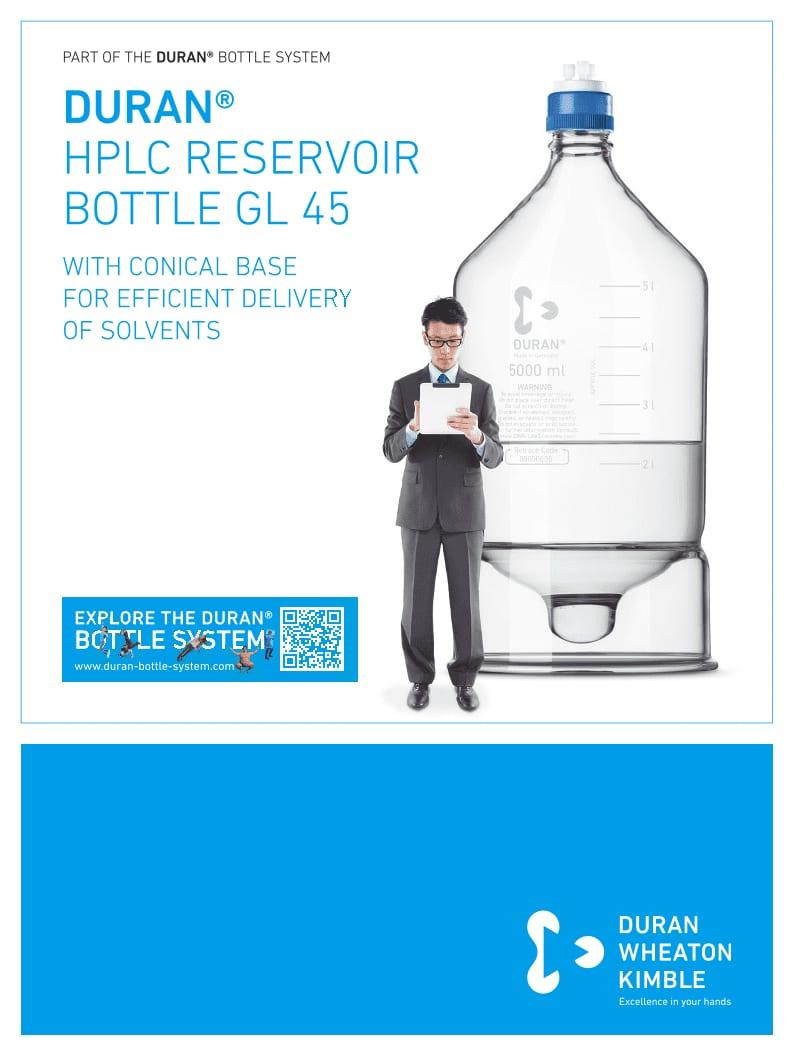 DURAN® HPLC Reservoir Bottle Flyer EN
