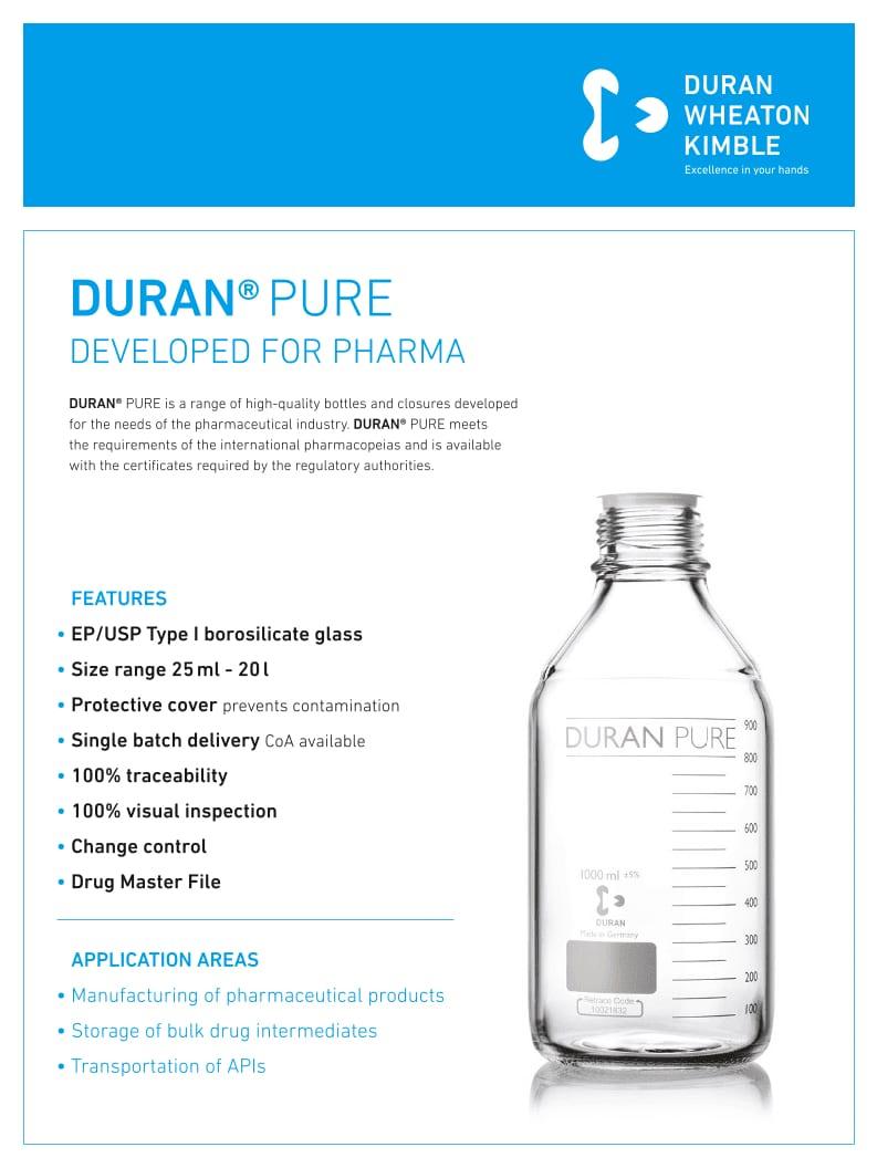 DURAN® PURE Flyer GL45