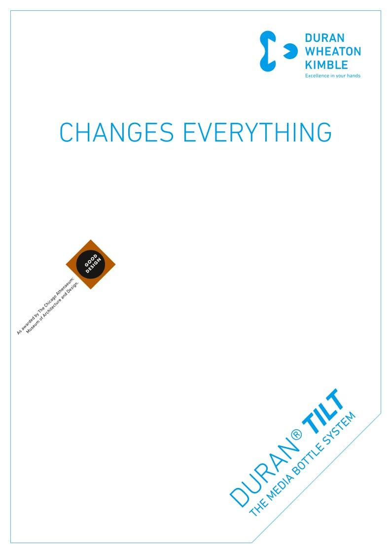 DURAN® TILT Brochure EN