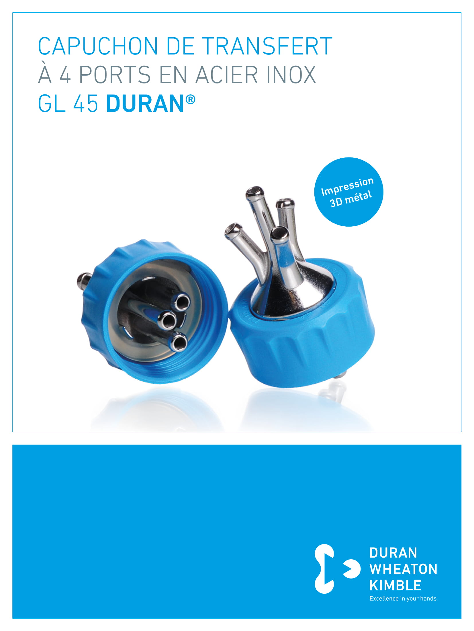 DURAN® 4-Port Connector Cap GL 45